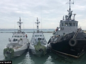 Rusija odbila američki poziv da oslobodi ukrajinske brodove i mornare