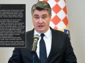 Milanović: ''Pet puta dnevno moram reagirati''