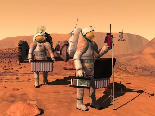 Na Marsu otkrivena područja s velikim količinama zaleđene vode
