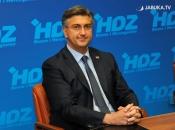 Plenković: Radit ćemo na osnaživanju ravnopravnosti Hrvata u BiH