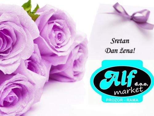 Sretan Dan žena želi vam ALF Market