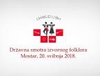 Najava: Državna smotra folklora Hrvata u BiH