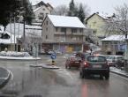 Ugažen i raskvašen snijeg na većini puteva u BiH