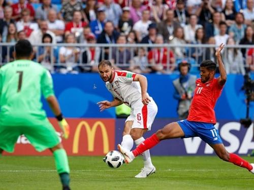Nogometaši Srbije svladali Kostariku