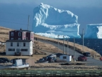 Spektakularna santa leda proslavila kanadski gradić
