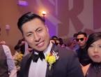 Mladenci uz pomoć 250 uzvanika snimili najbolji ples na vjenčanju