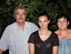 Mateja Ostojić s rodbinom i prijateljima proslavila svjetsku medalju!