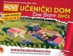 """Novi učenički dom u KŠC-u """"Don Bosco"""" – Žepče"""