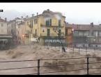 Snažne poplave na sjeveru Italije, zatvorene ceste, mostovi, škole...