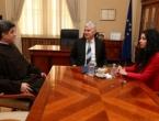 Čović primio novog provincijala Bosne Srebrene fra Jozu Marinčića