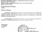 Načelnik akte potpisuje SAMO ako su na bosanskom jeziku