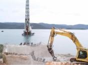 Most koji će spojiti Hrvatsku: Prvi stup je u moru