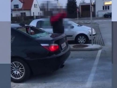 Snimak koji je šokirao Austriju: Zašto je 45-godišnji Bosanac lopatom razbio BMW