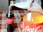Evo što se dogodi miješanjem Coca-Cole i mlijeka