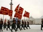 Vojnom paradom obilježena 75. godišnjica oslobađanja Lenjingrada