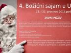Poziv na 4. Božićni sajam u Uskoplju