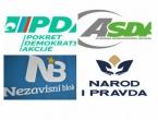 Četiri stranke dogovorile blok protiv SDA