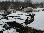 Mještani u šoku: Ogromno klizište kod Foče ''progutalo'' dvije štale