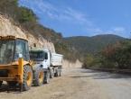 Privodi se kraju prva faza radova na putu Podborsko raskrižje - Aćimići