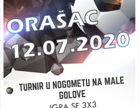 Organizira se nogometni turnir na Orašcu