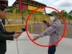 VIDEO Razbojnik tijekom snimanja opljačkao novinarsku TV ekipu