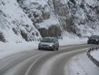 Poledica i snijeg u višim predjelima