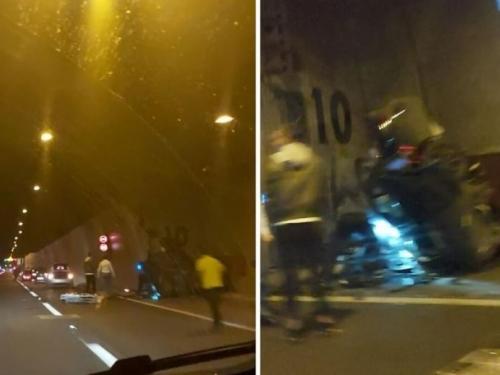 Teška nesreća u Svetom Roku: Zabio se u zid tunela i poginuo