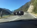 Kamion sletio u Neretvu nakon sudara sa Škodom