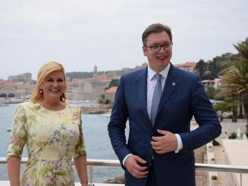 Vučić prihvatio poziv Grabar-Kitarović: Stižem u Zagreb!