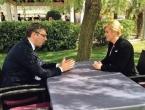 Kitarović i Vučić: Vrijeme je za pozitivan iskorak u odnosima Hrvatske i Srbije