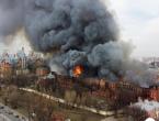 Rusija: U gašenju požara tvornice sudjeluje 350 vatrogasaca, ima i poginulih