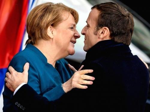 Merkel: Njemačka i Francuska žele europsku vojsku