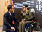Barcelona i Messi ispunili snove mladoj Sirijki