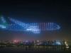 Ovako izgleda kada 800 dronova formira oblik zrakoplova