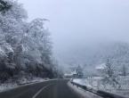 Jak vjetar stvara sniježne nanose na cestama Šuica-Livno-Kamensko