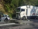 Teška nesreća kod Konjica: Sudar kamiona i osobnog vozila