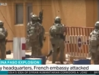 Teroristi napali francusko veleposlanstvo u Burkini Faso