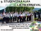 Poziv na sudjelovanje na 9. Studentskoj alki