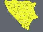 BiH: Zbog grmljavine upaljen žuti meteoalarm