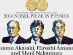 Izumitelji plavih LED-ica dobili su Nobelovu nagradu za fiziku