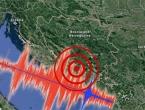 Uzrok potresa je sudaranje Jadranske i Europske ploče