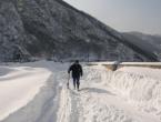 """Foto: Snijeg blokirao i branu HE """"Rama"""""""