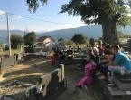 Rumbočka FRAMA u akciji čišćenja groblja