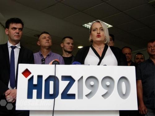 Diana Zelenika nakon 14 godina napušta HDZ 1990