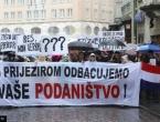 """Prosvjed studenata u Zagrebu: """"Dosta je potlačenosti i ignoriranja Hrvata u BiH"""""""