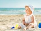 Bebe do šest mjeseci ne smije se izlagati direktnom suncu