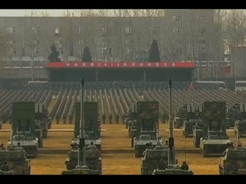 """Kineski predsjednik Xi održao smotru vojske i poručio: """"Ne bojte se smrti"""""""