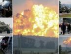 VIDEO: Trenutak goleme eksplozije u ukrajinskom skladištu oružja