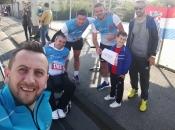 FOTO: Promocija Rame na Zagrebačkom maratonu