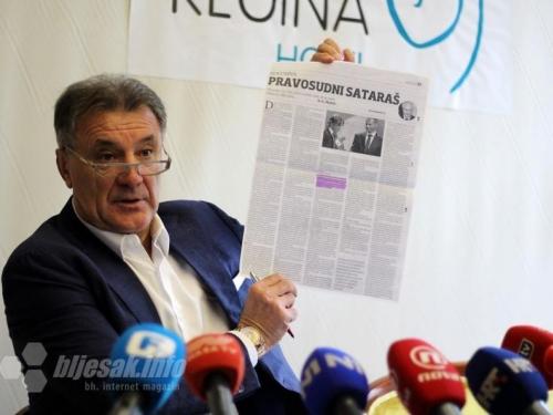 Zdravko Mamić službeno moli ustupanje kazne BiH